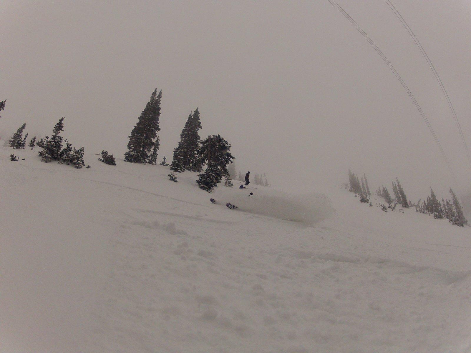 Finally some snow