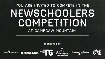 Newschoolers Rail Jam at Campgaw!
