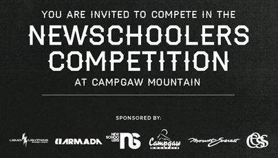 Newschoolers Rail Jam at Campgaw!