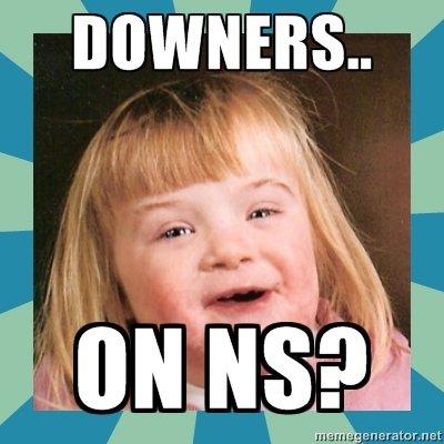 down ns
