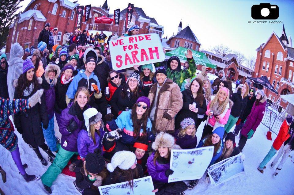 Bishops University Rides for Sarah