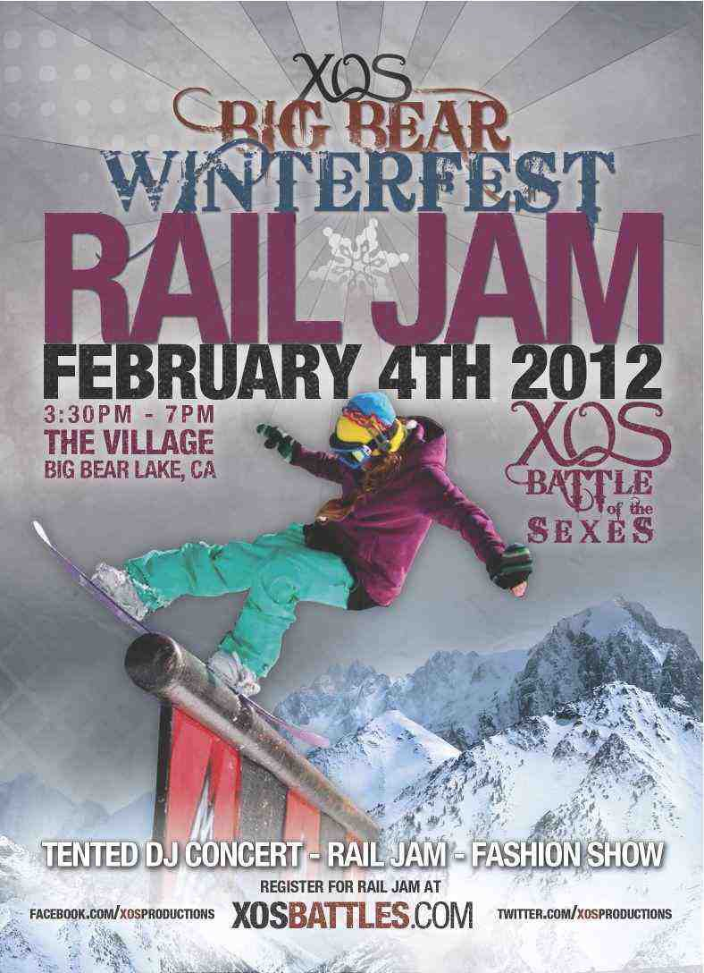 Battle of the Sexes Rail Jam - 2/4