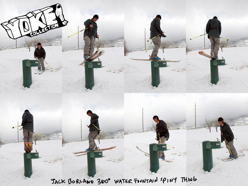 Jack's thirsty!