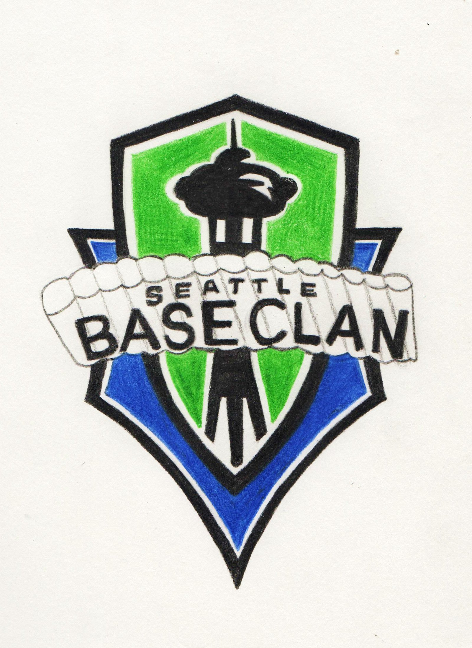 Seattle BASE Clan Logo Idea