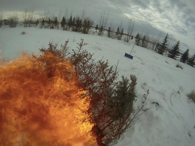 Fire jump fail