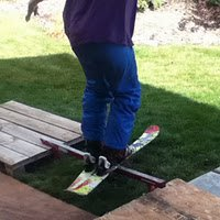 Skiing Last Summer