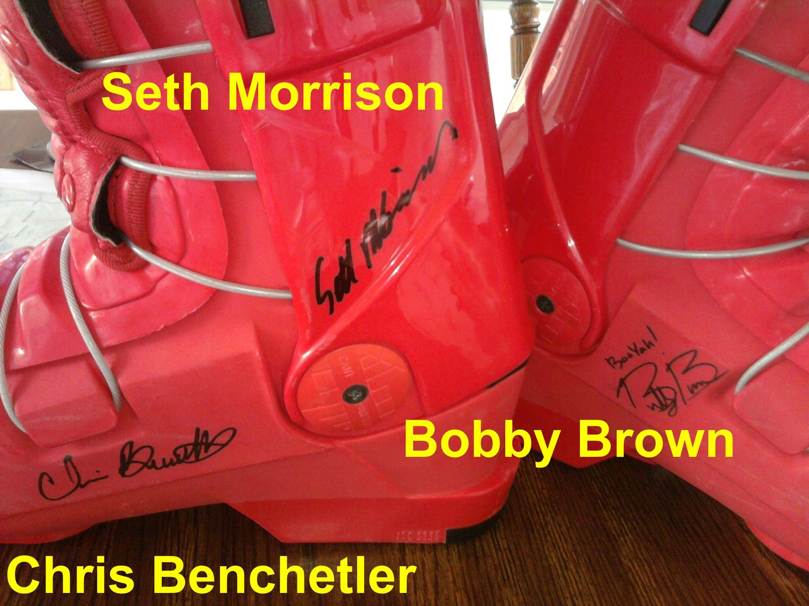 Bobby Brown, Seth Morrison, Chris Benchetler