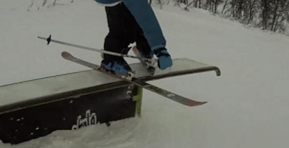 tesing 'em skiis!