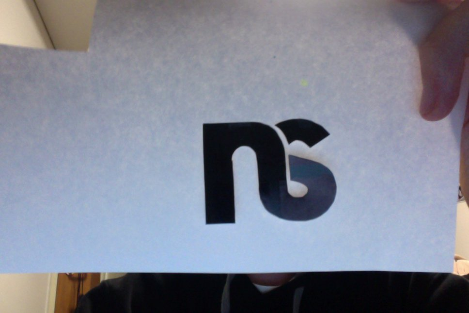 Ns cutout sticker