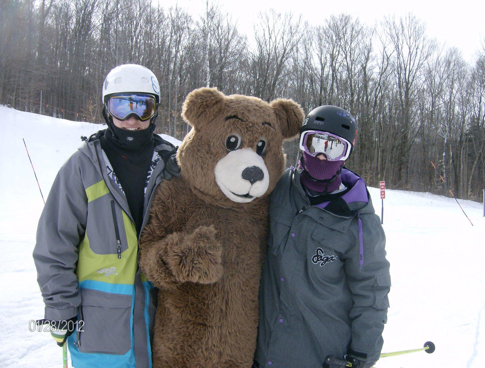 Burky The Bear