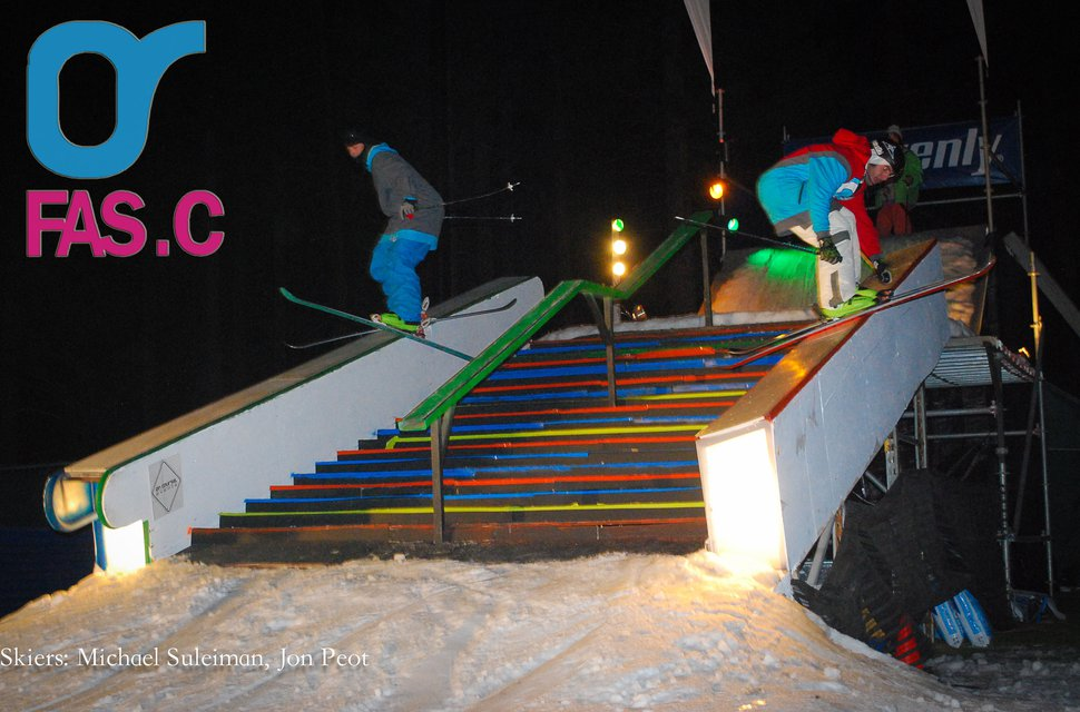 Snow Globe Rail Jam with FAS.C