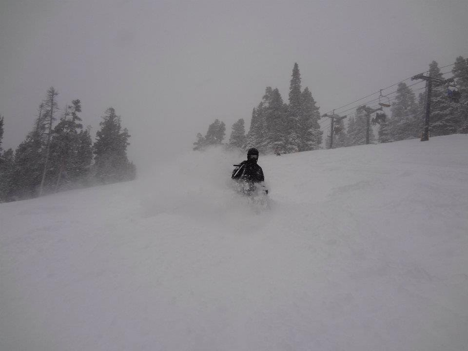 Powder at Eldora