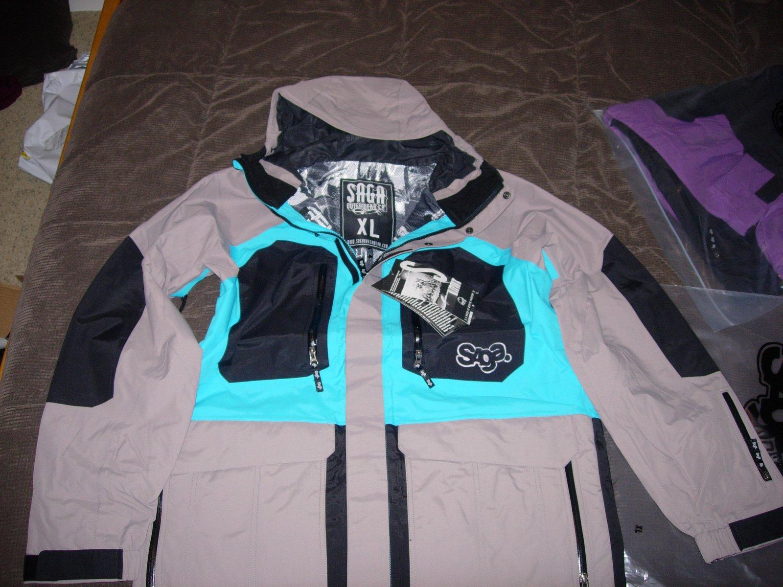 XL Saga Anomie Take Over Jacket