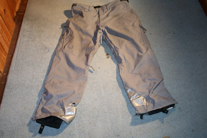 Grey DNA Pants Front