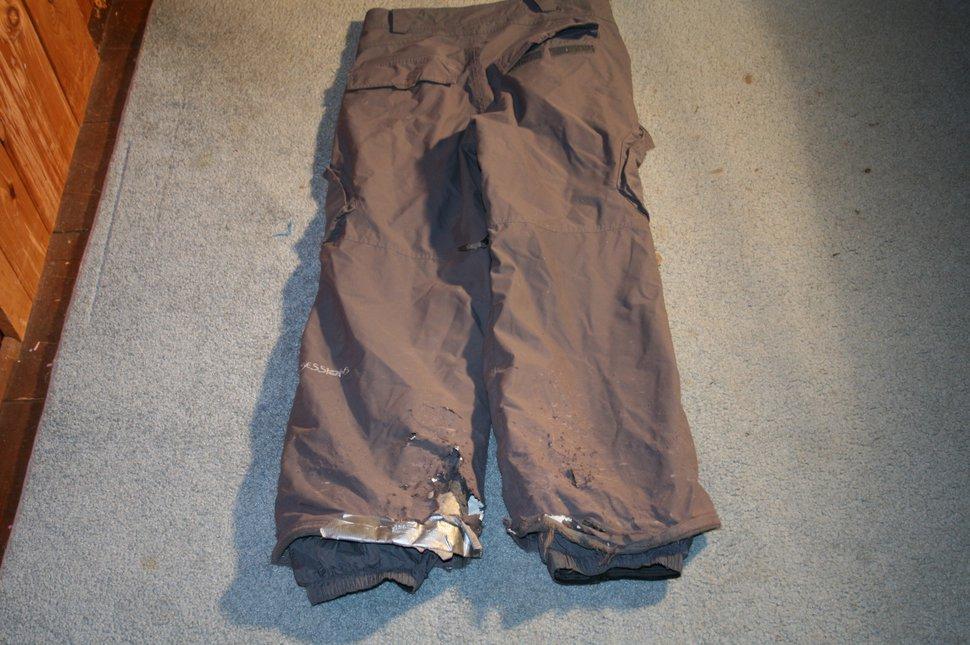 Sessions pants back