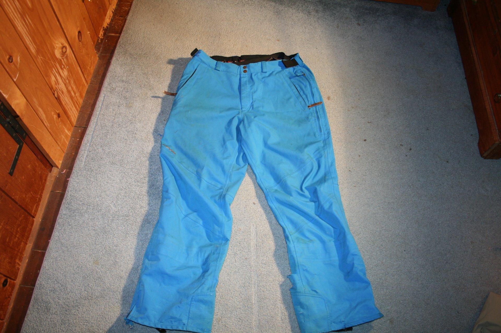DNA blue pants front