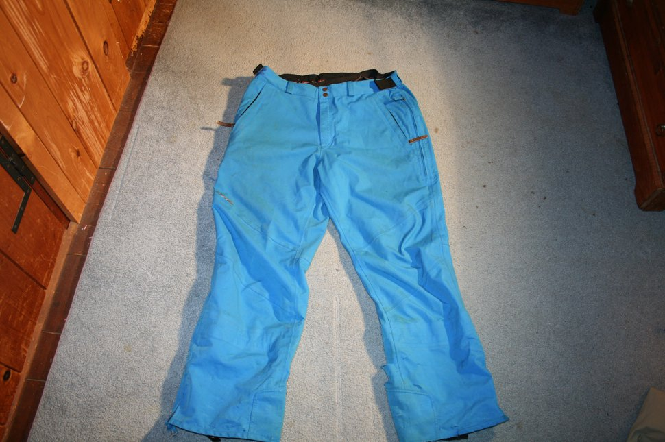 DNA blue pants front
