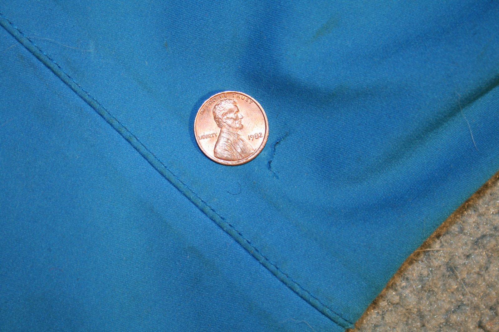 DNA blue pants rip 2