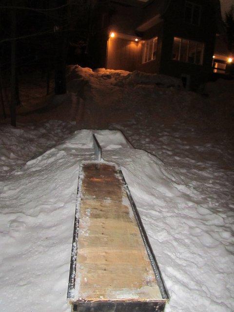 rail to down box