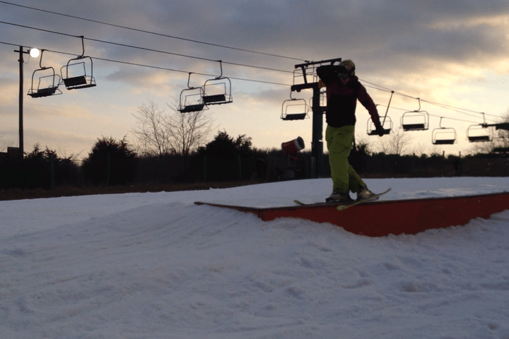 Ski Slide Cross Step