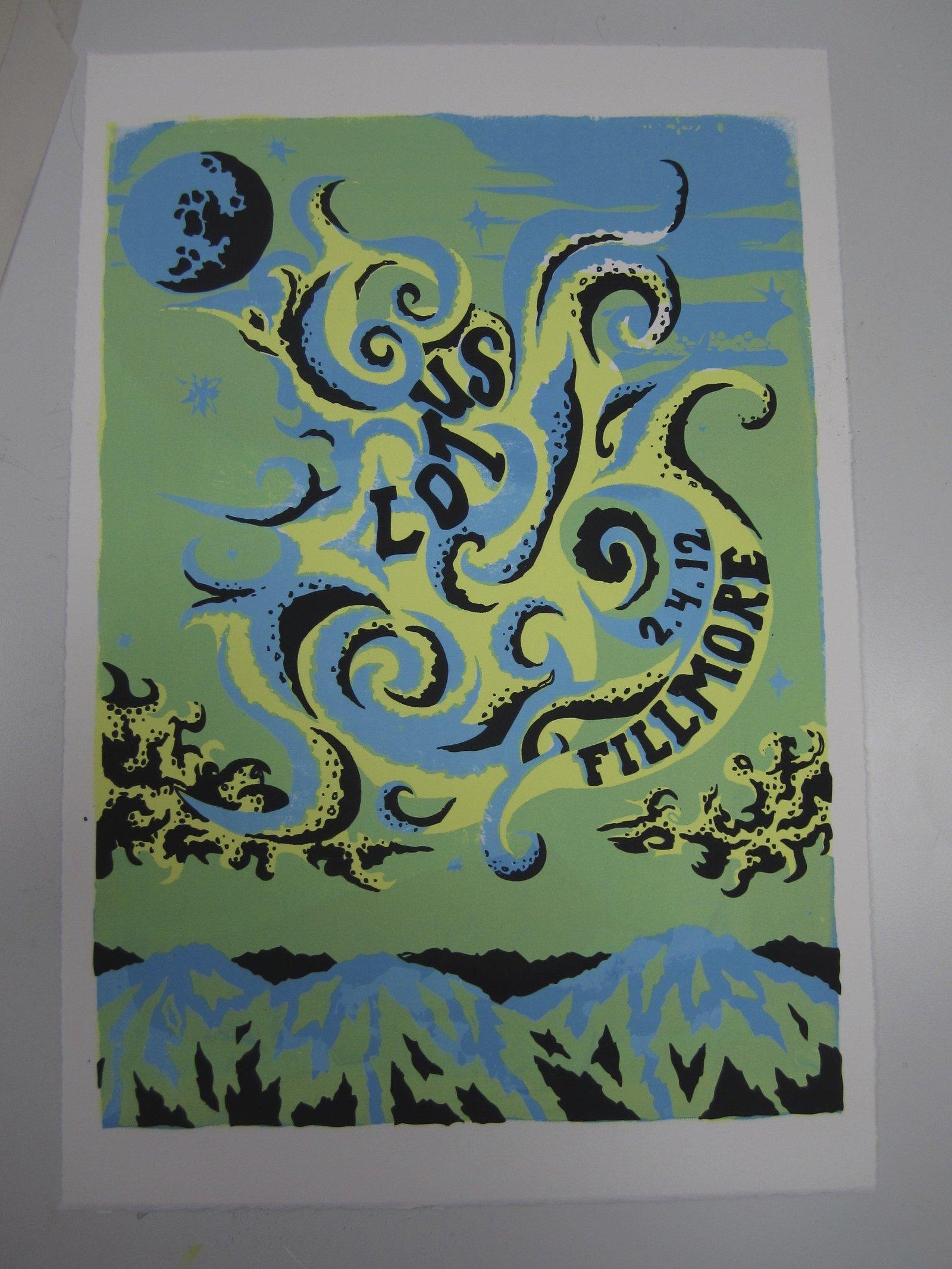 Lotus Poster (Day)