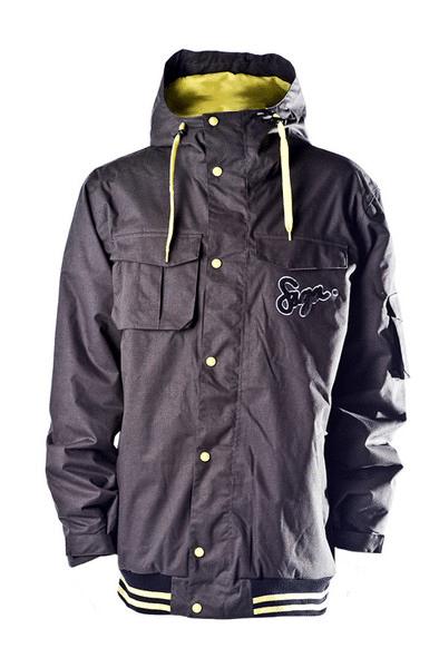 My new jacket - The saga on deck
