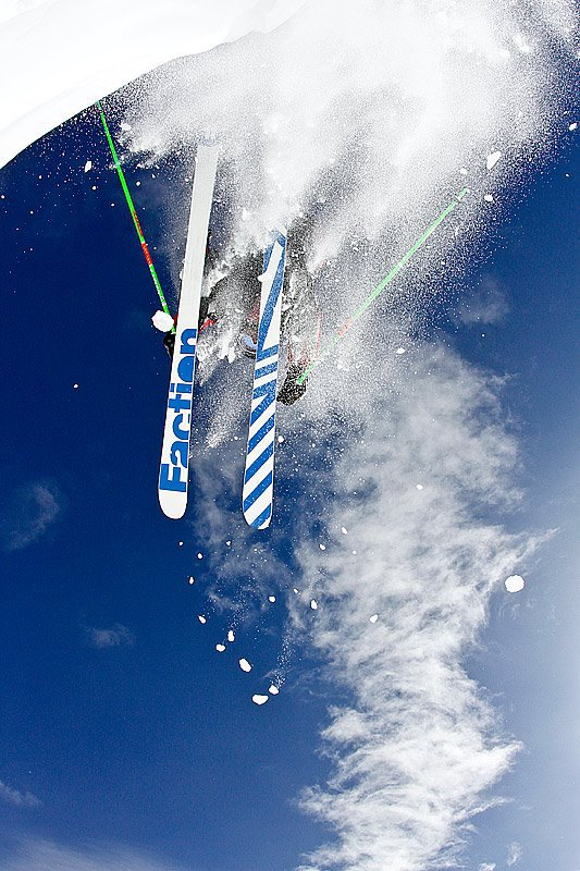 Cory taking flight