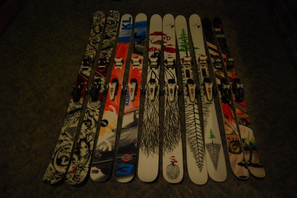2011-12 ski quiver