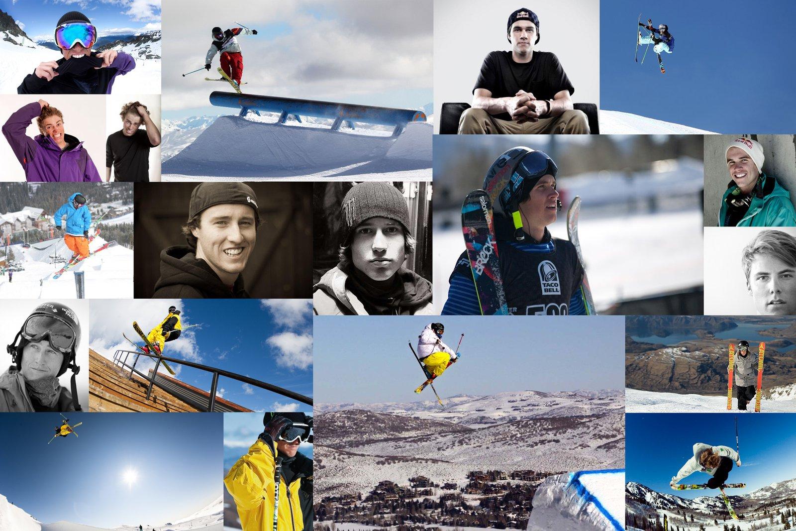 Skiers Wallpaper