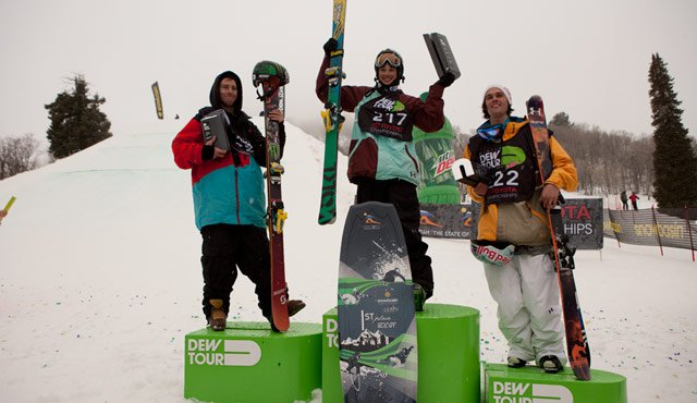 Dew Tour Ski Slopestyle Finals