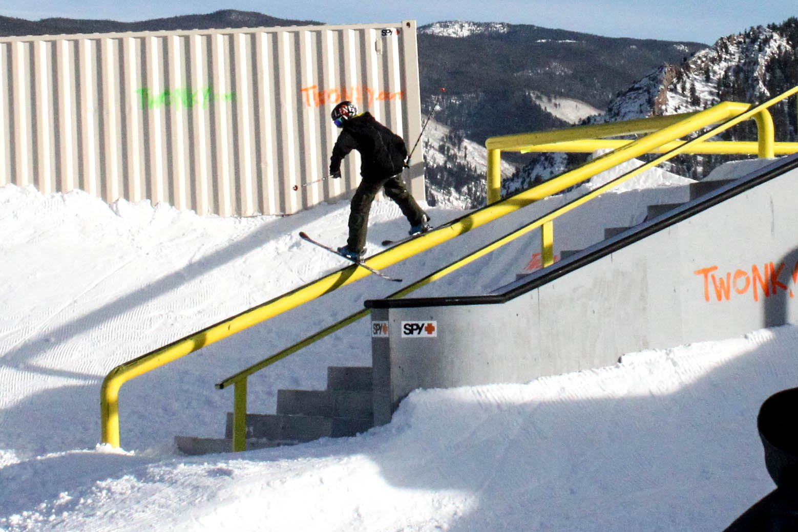 USASA railjam at X games