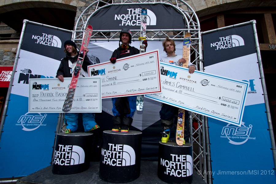 The North Face Park & Pipe Open Northstar Recap