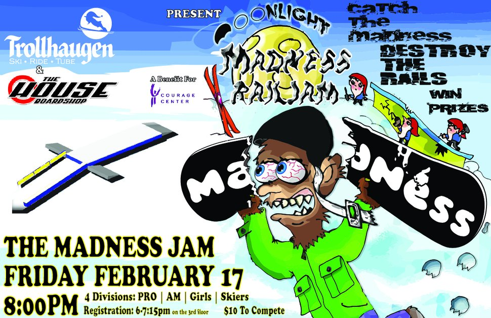 Madness Jam - Trollhaugen & The House