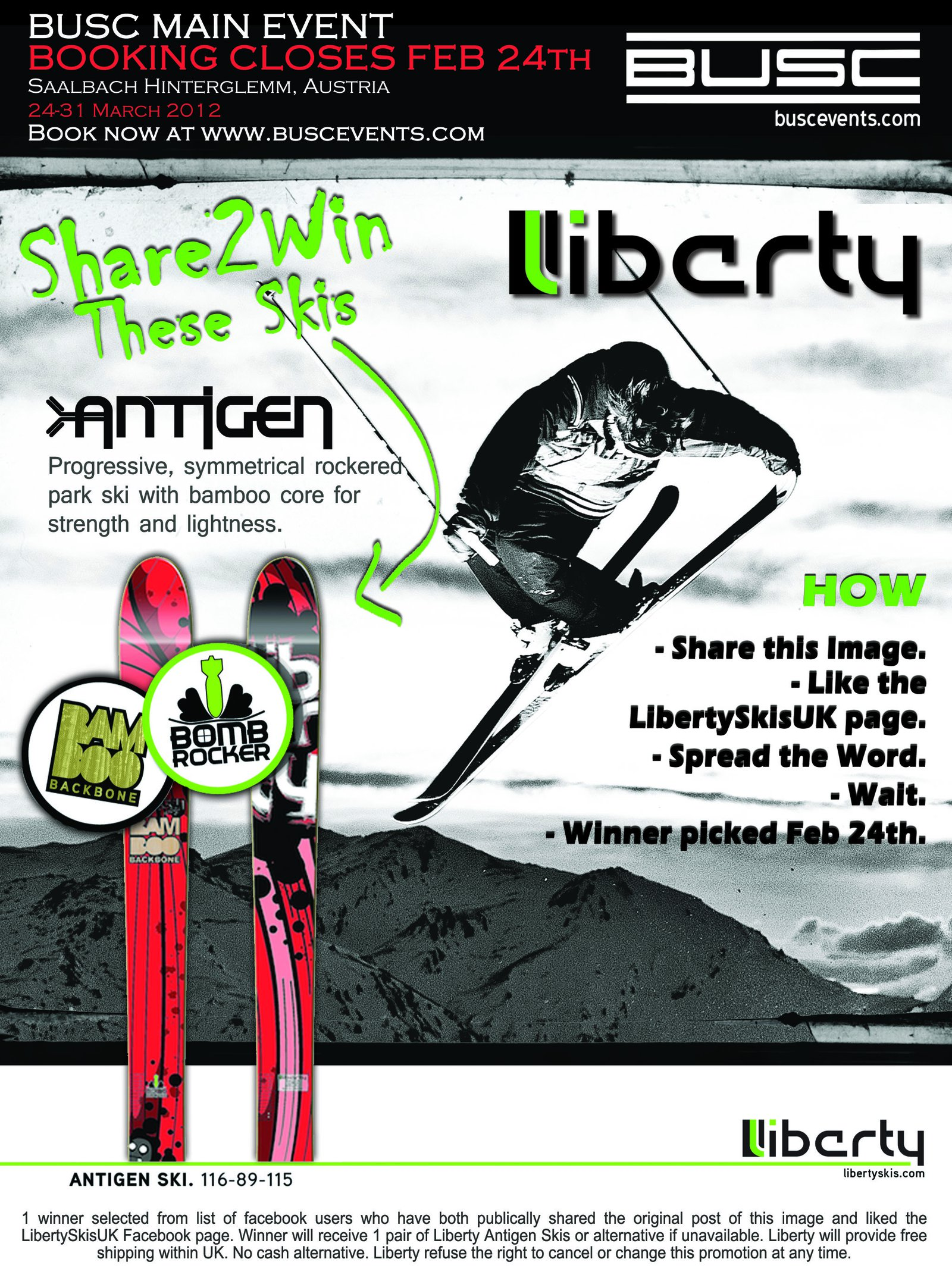 BUSC Liberty Share to win