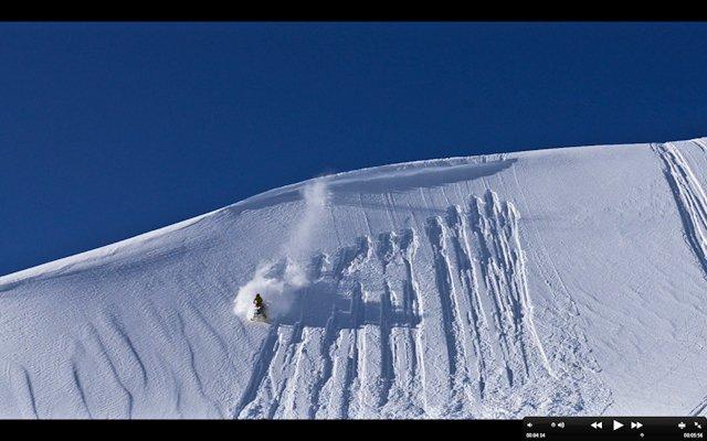 Huckin the sled.