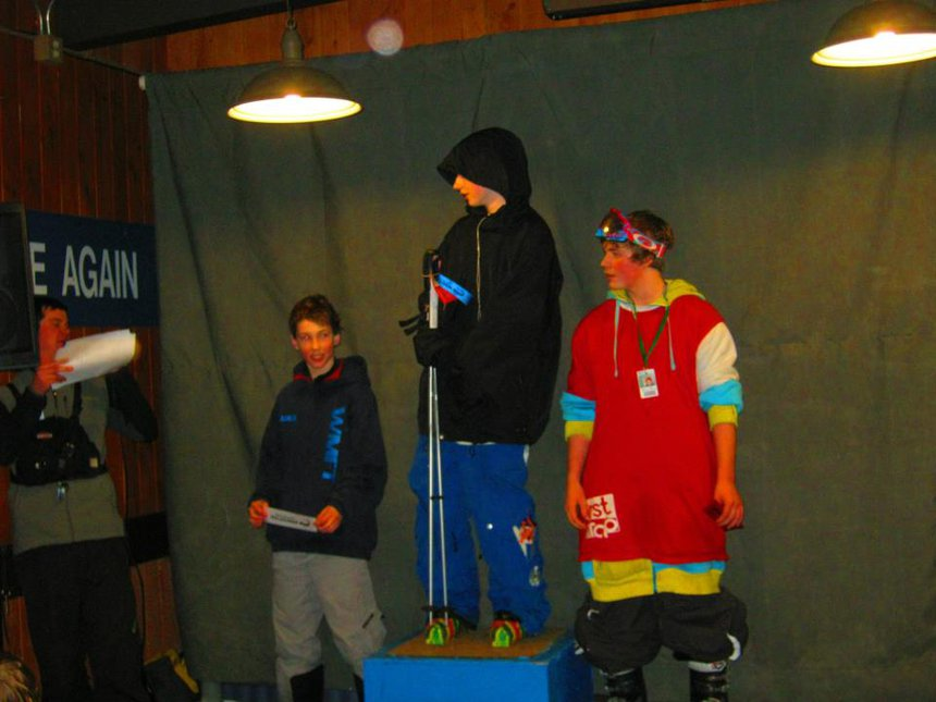2nd place Night Riders Slopestyle