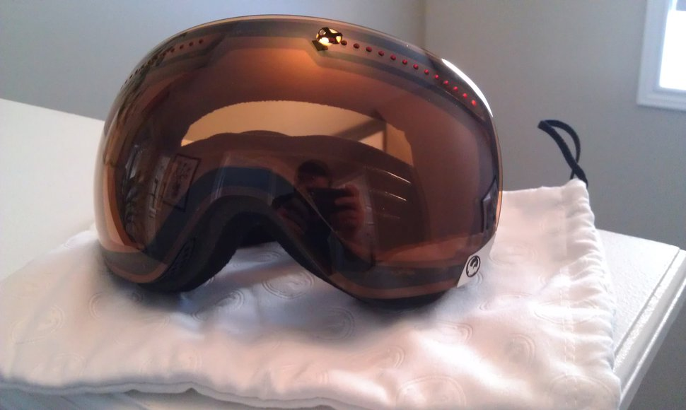 Dragon APX Goggles Coal/Amber - 1