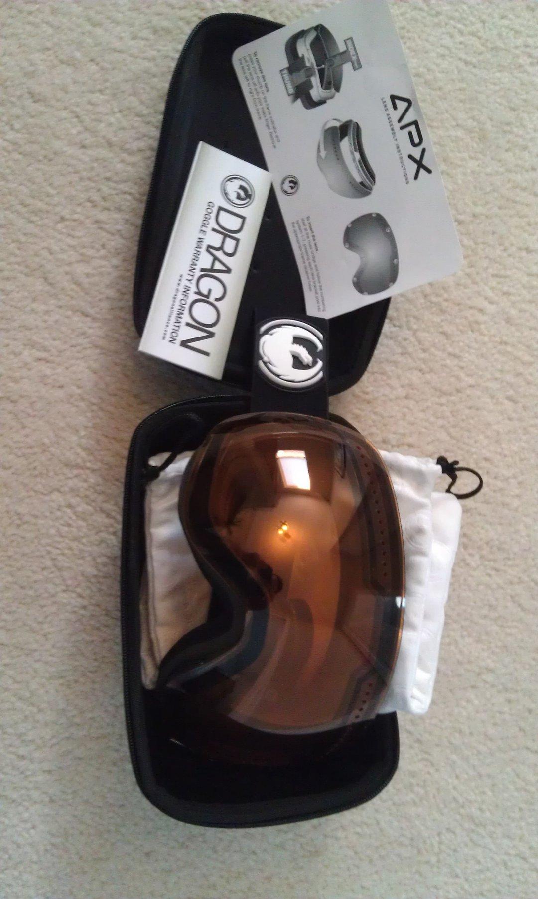 Dragon APX Goggles Coal/Amber - 3