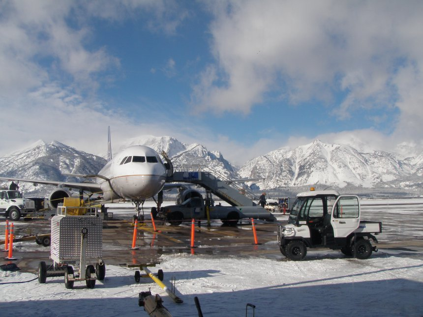 Jackson Hole airport!!!