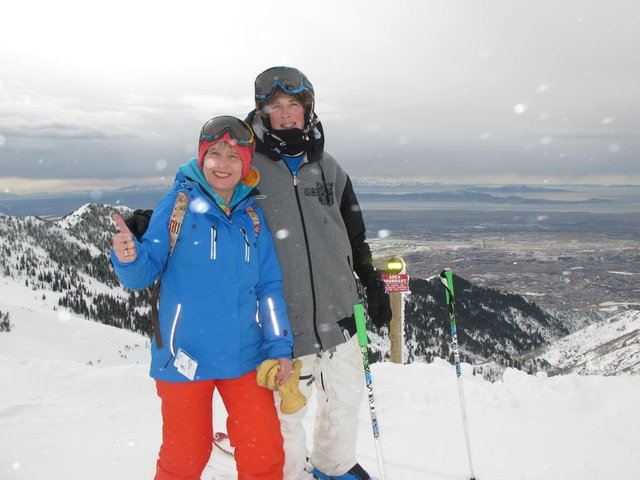 Summit of Snowbasin