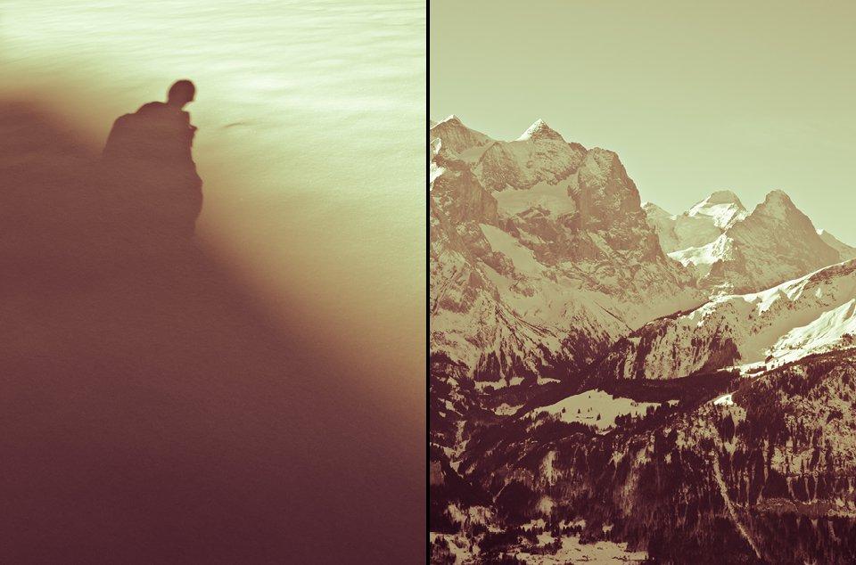 Shadow/Wetterhorn & Eiger
