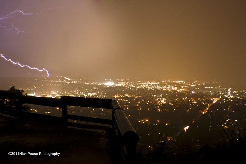 Boulder Lightning Storm