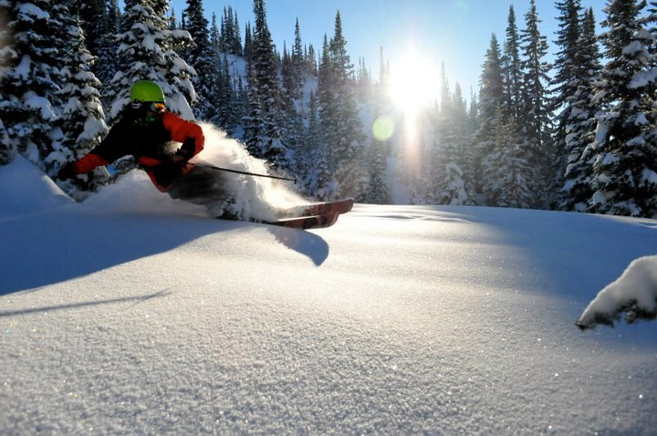 Powder Days on Buff Pass