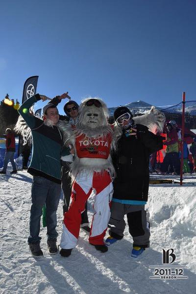Dew Tour at Breck with the Yeti