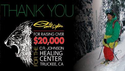 Smith Donates $20,000 To CR Johnson Fund