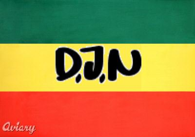 DJN Rasta Sticker