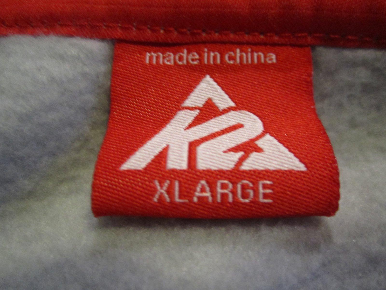 K2 hoodie size