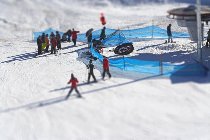 snow park tiltshift