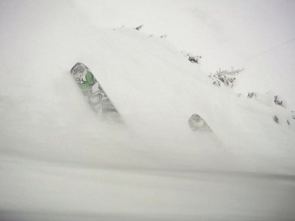 last shot before left ski pre-released