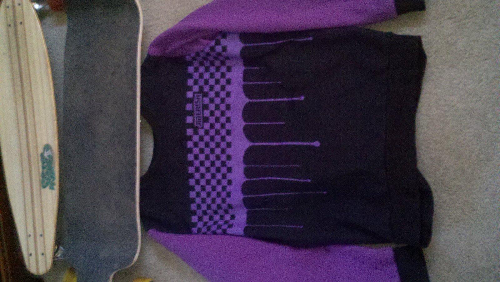 3xl Purple Dripcheck